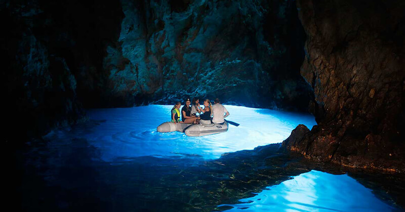 BlueCay Boat Transfer Split Airport Blue cave Hvar Vis