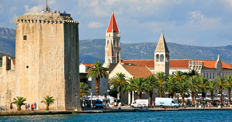 BlueCay Boat Transfer Service Split Airport to Trogir town